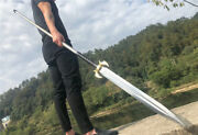 Hunting Fighting Spear Spearhead Sword Strong High Manganese Steel Sharp Spear