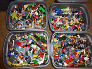20 Pound Lbs Of Bulk Lego Cleaned Sanitized Bricks And Other Assorted Pieces Lot
