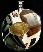 Orvis Whiskey Flask + 2 Trout Included - Fly Fishing Rod Reel - Gift For Luck