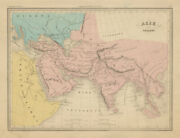 Asie Ancienne. Ancient South Asia And Middle East. Malte-brun C1871 Old Map
