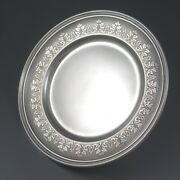 Antiqueandnbspfrench Sterling Silver Dish Plate Doutre-roussel Master Silversmith