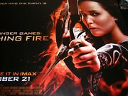 Uk Original Movie Quod Poster The Hunger Games Catching Fire 2013
