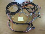 Farmall 806 Diesel Tractor W/generator Wiring Harnesses - 4 Included