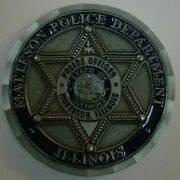 Matteson Police Pd Illinois Il St. Michael Protect Us Challenge Coin