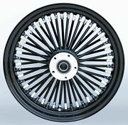 16 X 5.50-52 Spk Mammoth Flhxs S/g Rear Wheel Abs 2009and039-2019and039 With Cush Black