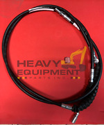 Backhoe New Holland 555e And 655e Hand-operated And Foot Pedal-operated Cable 2400mm