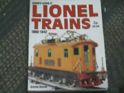 Standard Catalog Of Lionel Trains 1900-1942 By David Doyle 2008 Good