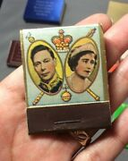 1939 Royal Visit To Canada Matchbook 80 Yrs Old 19 Of 20 Matches Inside