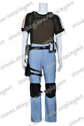 Resident Evil Chris Redfield Cosplay Costume Outfits Halloween Party T-shirt