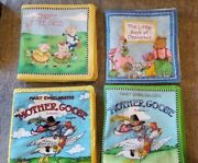 Lot 4 3 Mary Engelbreit's Soft Books 1 Book Of Opposites Fabric Panel Child