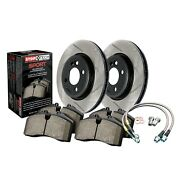 Stoptech Disc Brake Pad And Rotor Kit Front For 2007 - 2013 Mazda 3