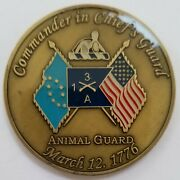 Us Army Commander In Chiefand039s Guard 3rd Us Infantry Reg Animal Protect The Potus