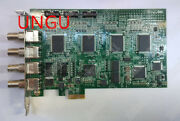 1pc Used Adlink Pcie-rtv24 Image Acquisition Card 4ch Pcie X1