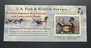 Wtdstamps - Rw86a 2019 - 2020 - Us Federal Duck Stamp - Post Office Fresh