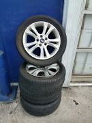 4 Rims/wheels And 4 Used Tires For Hyundai Car - Tire Size 2155517