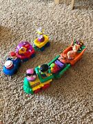 Set Of Two Fisher Price Trains Circus Amd Zoo