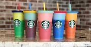 Starbucks Color Changing Cup Set - Rare - Sold Out In All Stores
