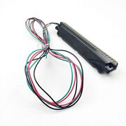 Motorcycle Air Wing Luggage Rack Led Tail Brake Light For Harley Street Glide