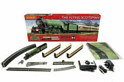 Genuine Hornby The Flying Scotsman 00 Electric Steam Train Set Model Trains