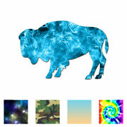Bison Buffalo Oxen - Vinyl Decal Sticker - Multiple Patterns And Sizes - Ebn127