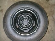 1976 Corvette - Oem Spare Tire And Wheel Never Mounted