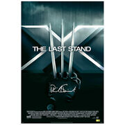 Patrick Stewart Autographed X-men 3 The Last Stand 16x24 Movie Poster