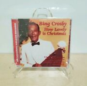 Bing Crosby How Lovely Is Christmas [cd, 1998] Holiday Musical Folk Tale Sealed