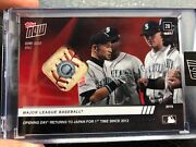 Game-used Ball Relic 7/10 - Japanese Series -topps Now 7 X Npb As/gg/best 9/plbc