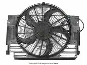 Bmw E53 X5 2000-2006 Auxiliary Fan Assembly With Shroud Behr Hella Service Oem