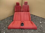 Bmw F23 2 Series M Sport Convertible Red Leather Front And Rear Seats