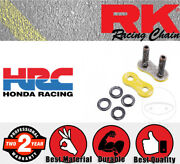 Rk Connection Link - Rivet Link - Hollow - Yellow 530 Xsoz1 For Kawasaki Zx-12r