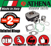 Athena Cylinder Kit - 50 Cc 10mm Pin - Wo Cylinder Head For Suzuki Scooters