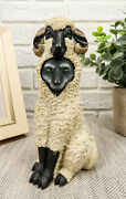 Ebros Dupers Collection Wolf In Sheep Clothing Statue 5.75 Tall Sheep Figurine