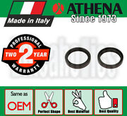 Athena Fork Oil Seals - 49x60x10 Mm For Honda Motorcycles
