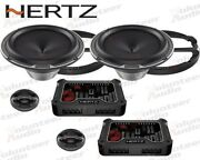 Hertz Mlk1650.3 6.5 150w Rms Direct Fit Component Set Speakers