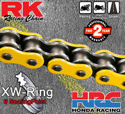 Rk Yellow Xw-ring Drive Chain 530 P - 120 L For Yamaha Motorcycles
