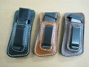 Usa Holsters Iwb Inside Waist Gun Magazine Clip Mag Pouch For..select Model - 9
