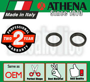 Athena Fork Oil Seals - 43x55.1x9.5/10.5 Mm For Honda Motorcycles
