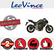 Leovince Complete Exhaust System - Lv One Ii - Evo 2 - 2/1 For Yamaha Mt-07