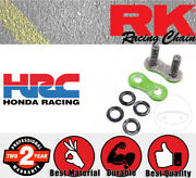 Rk Connection Link - Rivet Link - Solid - Green 520xso For Aprilia Red Rose