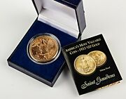 1933 U.s. Double Eagle 20 Gold Plated Tribute Proof Copy Coin