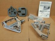 Nos Shimano 600 Pd-6400 Clip-style Road Pedals...late 80and039s Model W/cleats