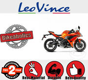 Leovince Complete Exhaust System - Sbk - Underbody For Kawasaki Motorcycles