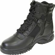 Black Military Blood Pathogen Resistant And Waterproof Tactical Boots 6