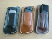 Usa Holsters Owb 1 Slot Belt Gun Magazine Clip Mag Pouch For..select Model - 2