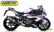 Full Exhaust System Arrow Competition Collector Steel Bmw S 1000 Rr 19 21