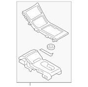 Genuine Ford Cover - Control Selector Lever Gd9z-54044d90-ff