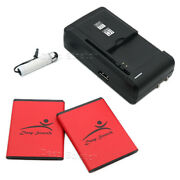 For Samsung Galaxy Player 4.0 Yp-g1cwy Battery Eb484659va 3020mah + Ac Charger