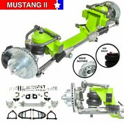 Mustang Ii Front End Ifs Suspension Conversion Kit Manual Lhd Rack Drop