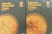 Whitman New Lincoln Cent 1959-1998 +1999 To Date Coin Folders Penny Album Books